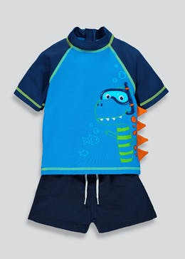 Boys 2 Piece Dinosaur Swim Set (3mths-5yrs)