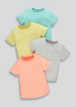 Boys 4 Pack T-Shirts (9mths-6yrs)