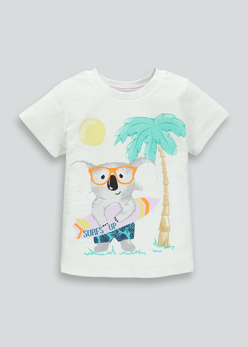 Boys Koala Print T-Shirt (9mths-6yrs)