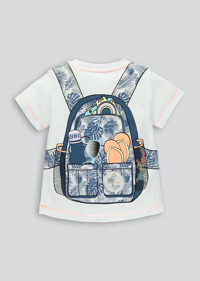 Kids Backpack T-Shirt (9mths-5yrs)