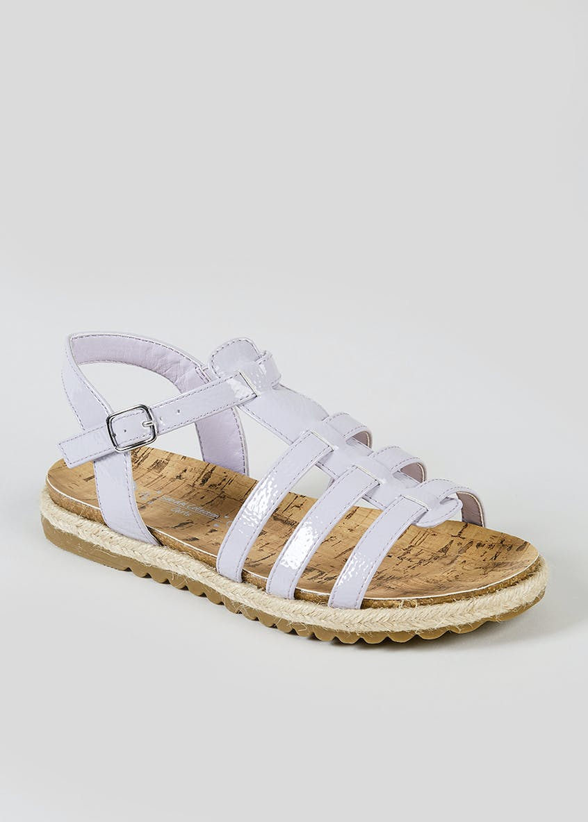 Girls Caged Sandals (Younger 10-Older 5)