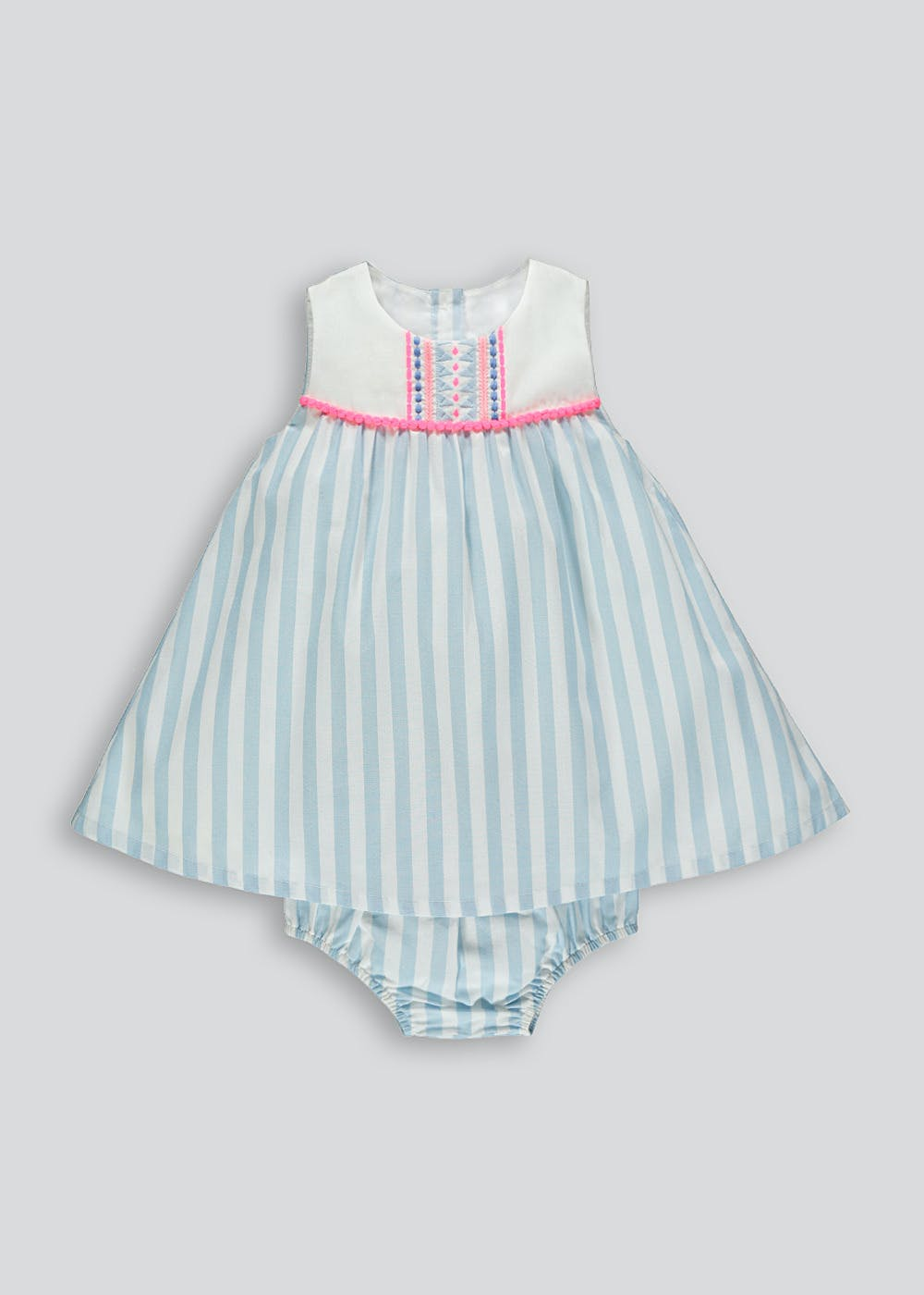 Clothes, Shoes & Accessories Dresses Next Baby Girl Summer Dress With Matching Sun Hat Size:0-3months Selected Material