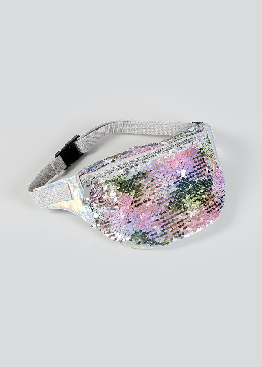 Girls Sequin Bum Bag