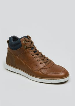 Real Leather Sports Chukka Boots