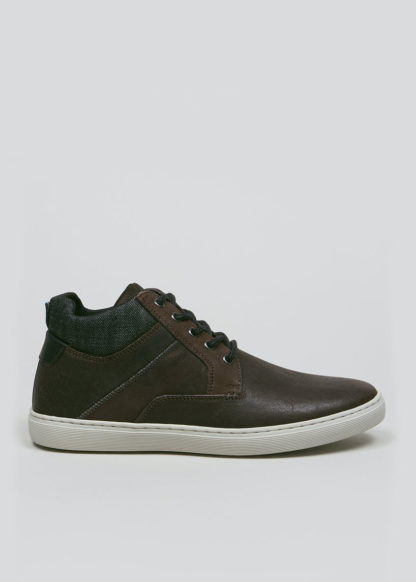 Real Leather Casual Chukka Boots