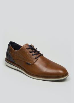 Real Leather Patch Formal Shoes
