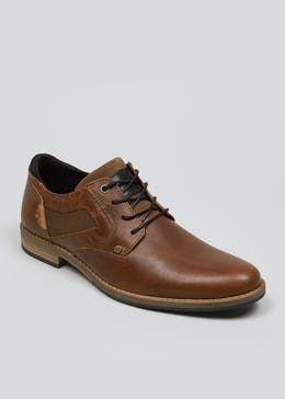 Real Leather Tab Formal Shoes
