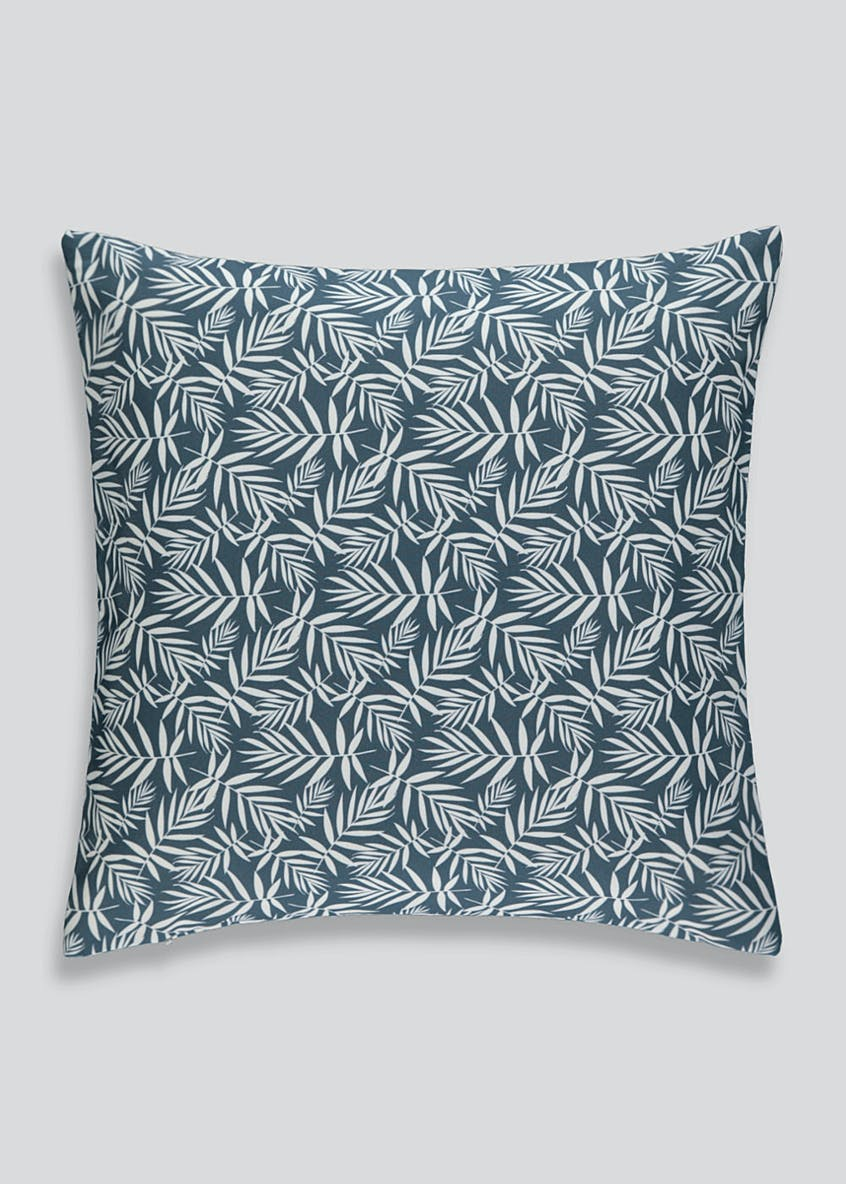 Leaf Print Outdoor Cushion (43cm x 43cm)