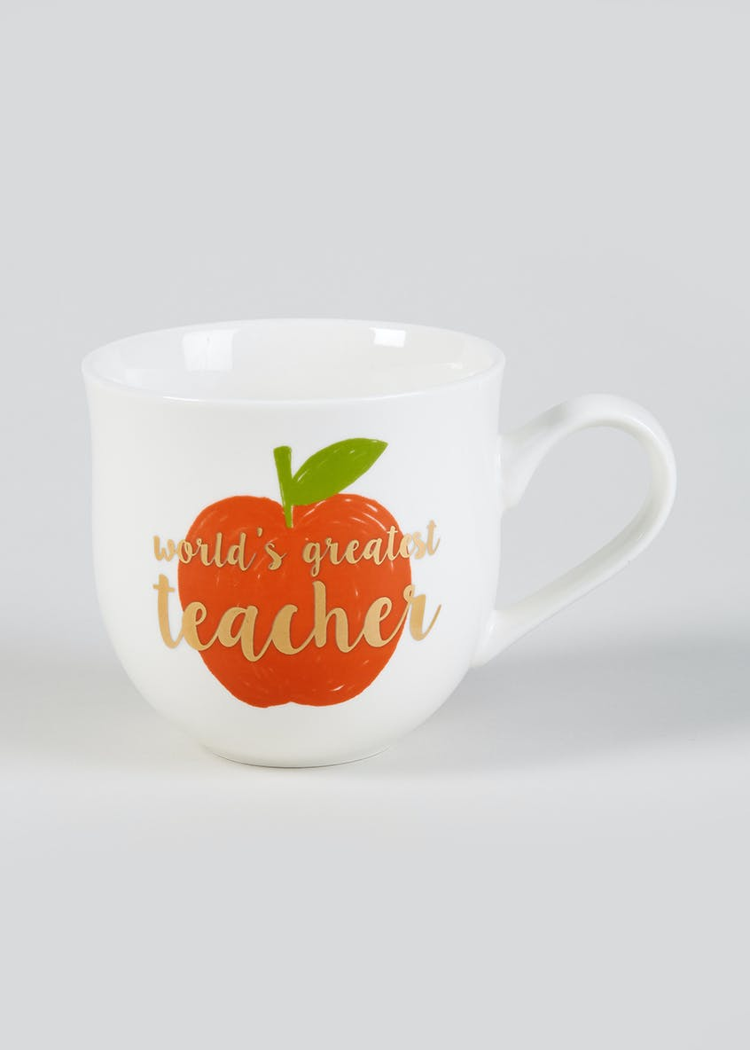 World's Greatest Teacher Mug (10cm x 10cm)