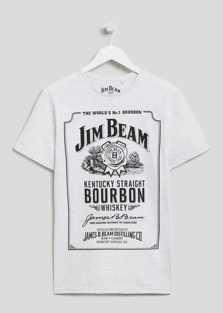 Jim Beam Printed T-Shirt