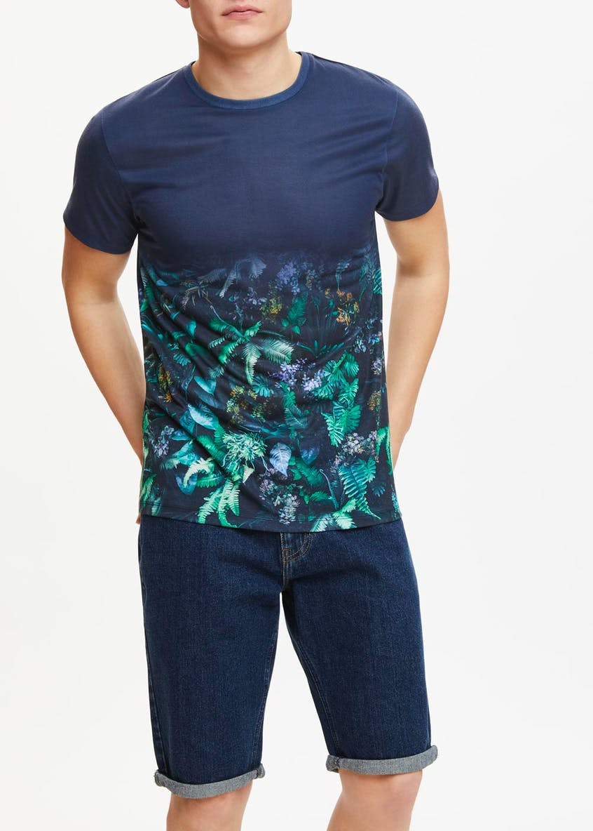 Tropical Sublimation Print T-Shirt