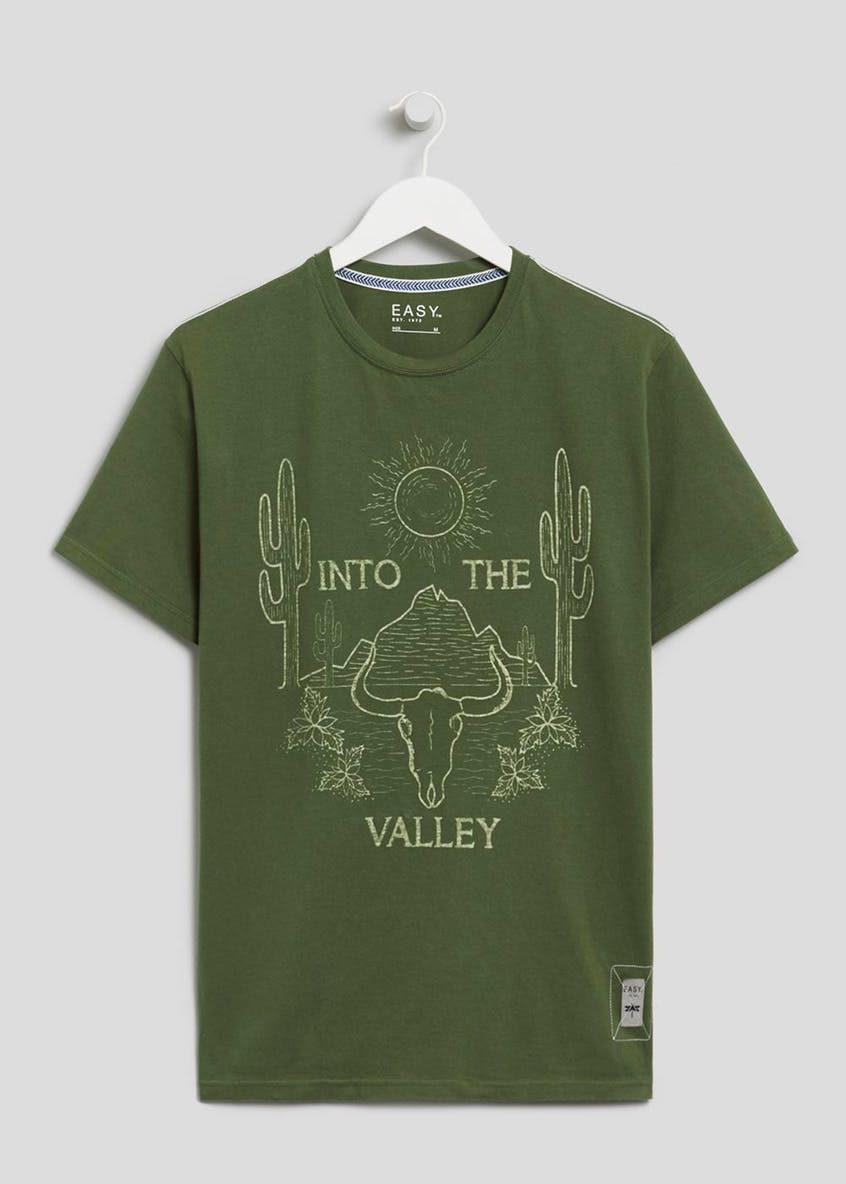 Valley Print T-Shirt