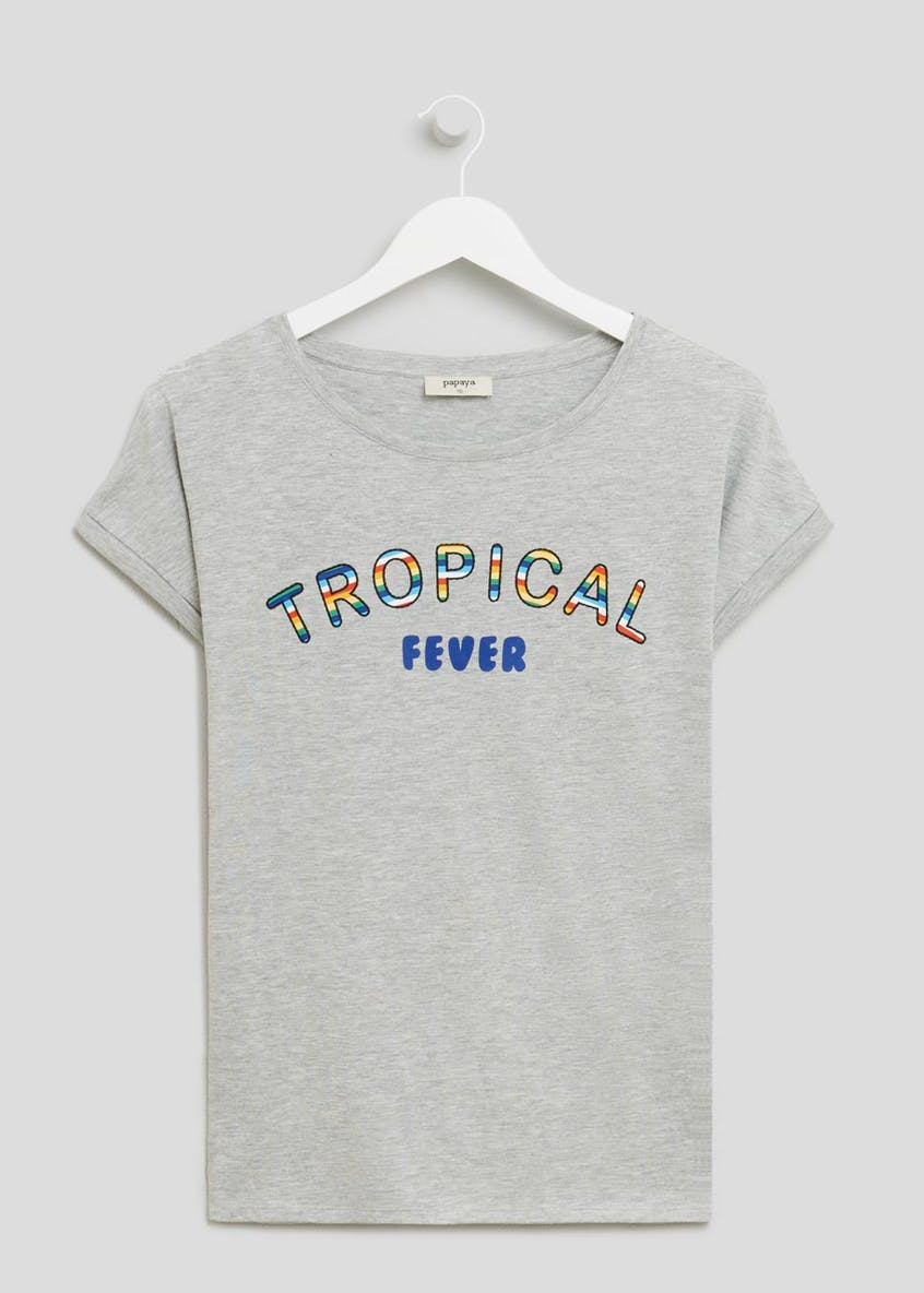Tropical Slogan T-Shirt
