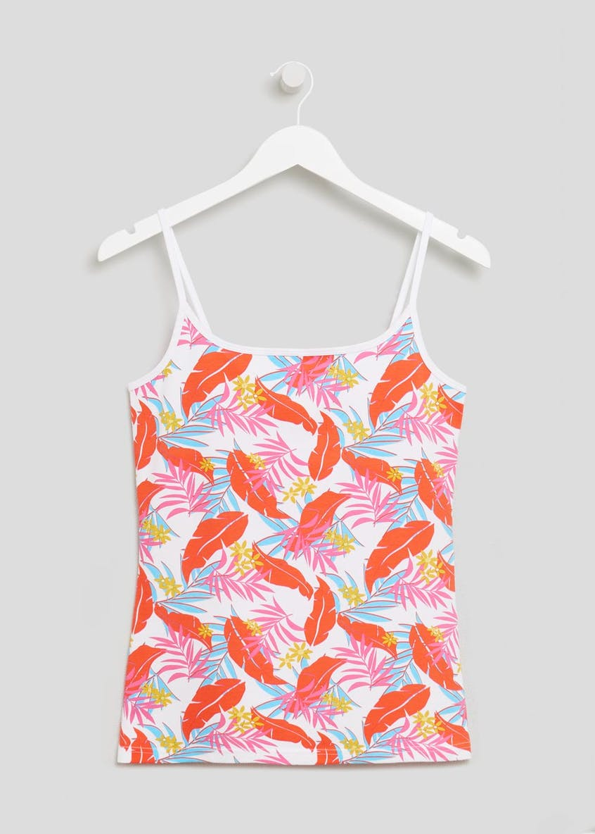 Tropical Print Basic Cami