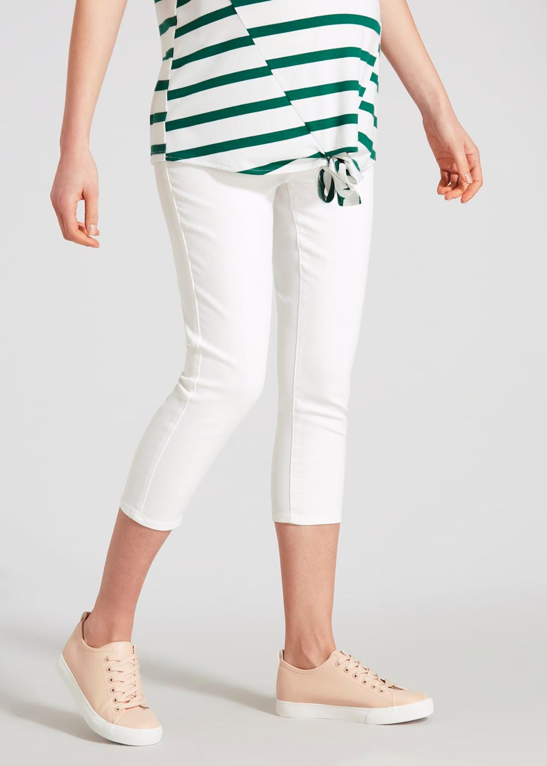 Maternity Rosie Cropped Jeggings