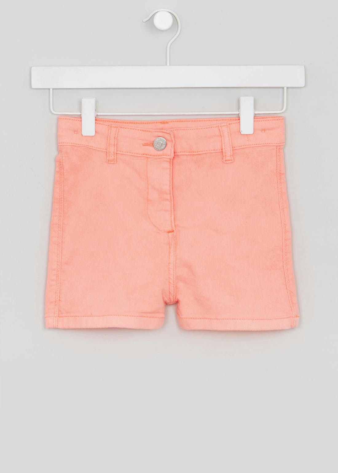 Girls Candy Couture Neon High Waisted Denim Shorts (9-16yrs)