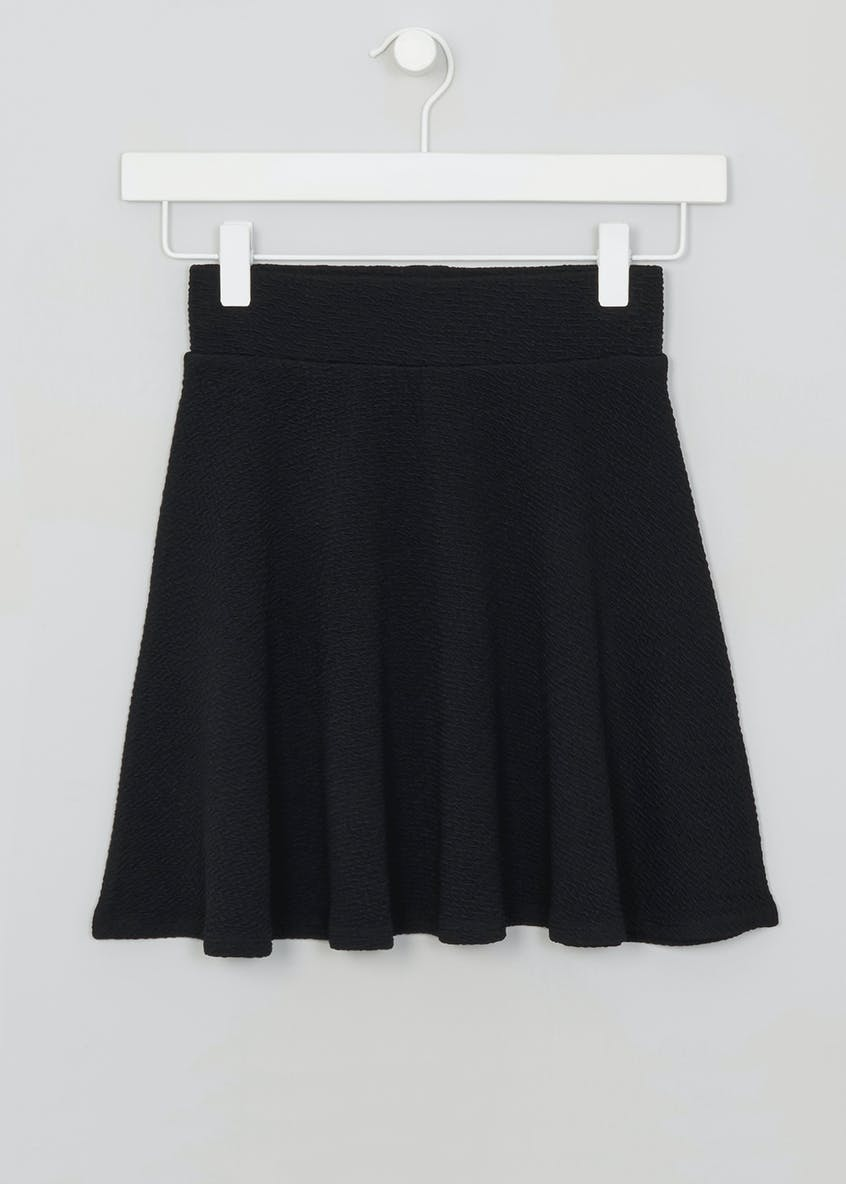 Girls Candy Couture Textured Skater Skirt (9-16yrs)