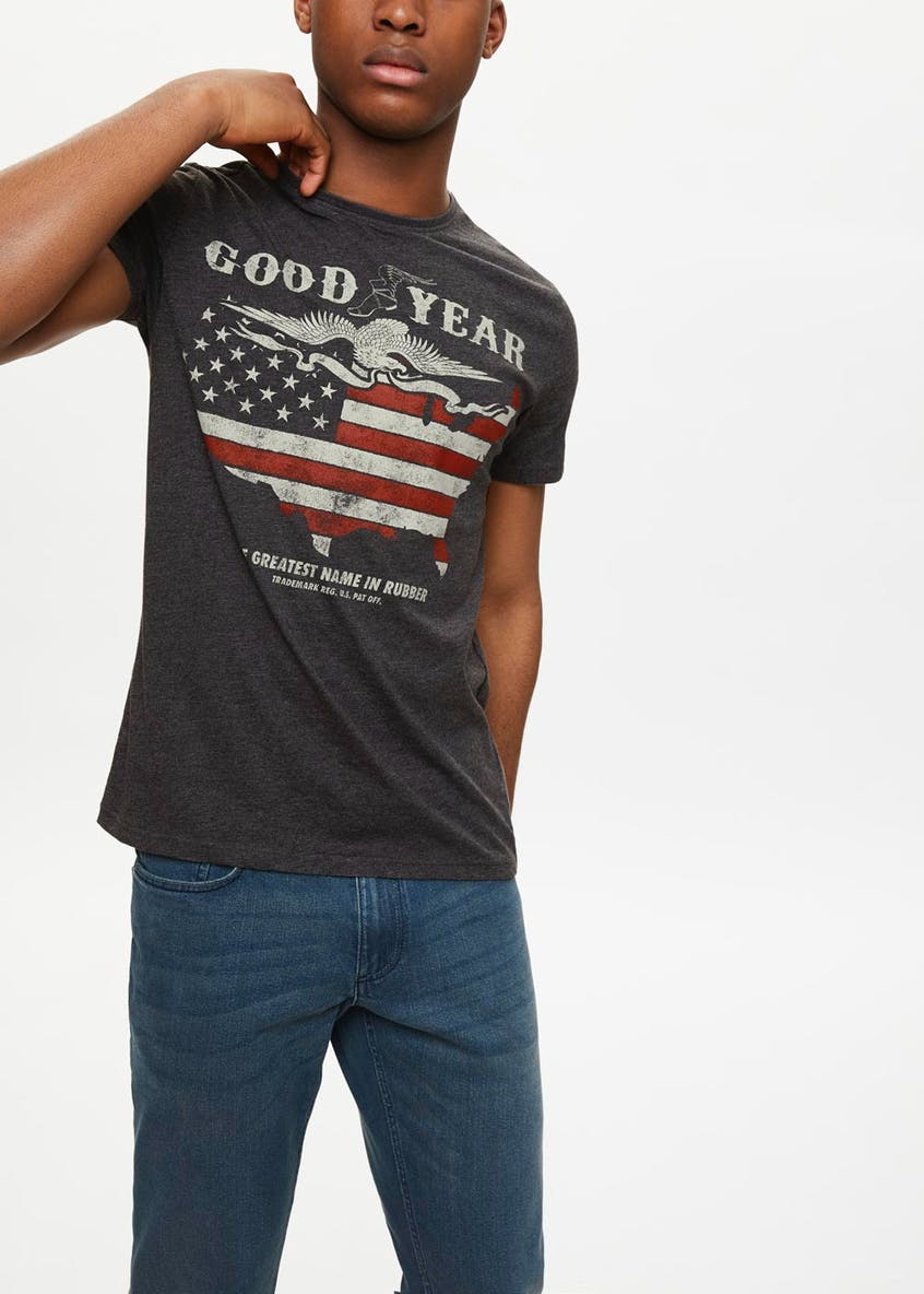 Good Year Printed T-Shirt