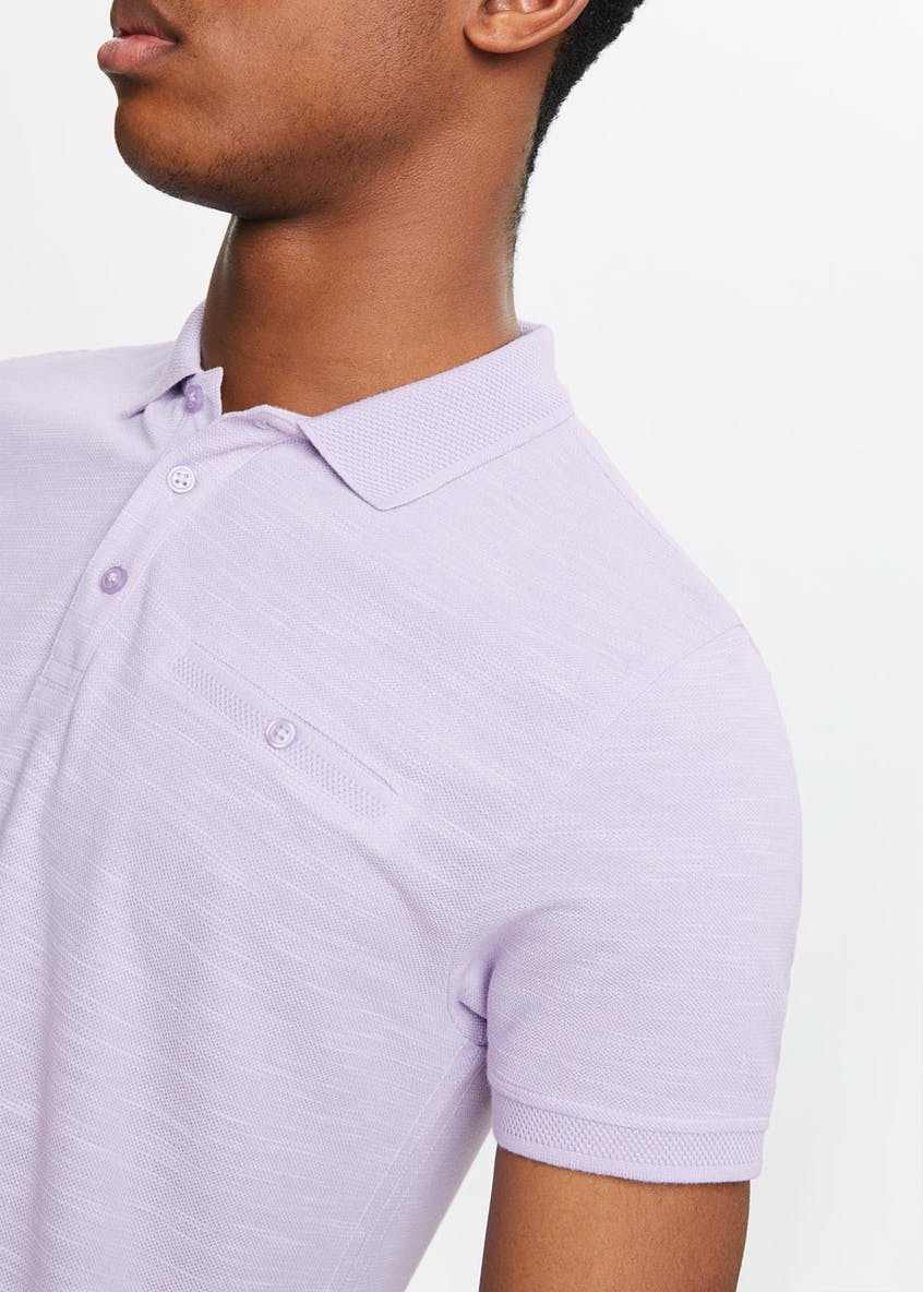 Knitted Jersey Polo Shirt