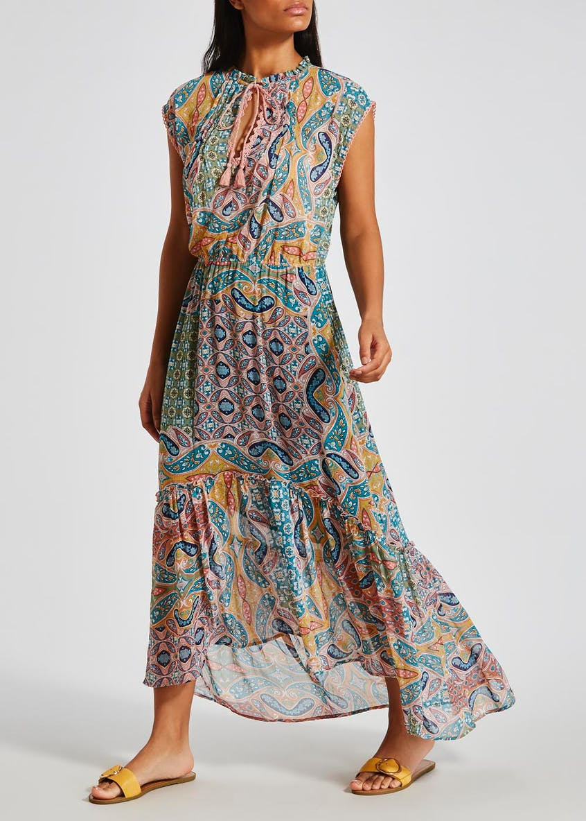 Falmer Festival Printed Maxi Dress