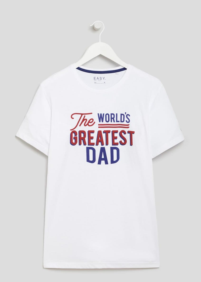 World's Greatest Dad Slogan T-Shirt
