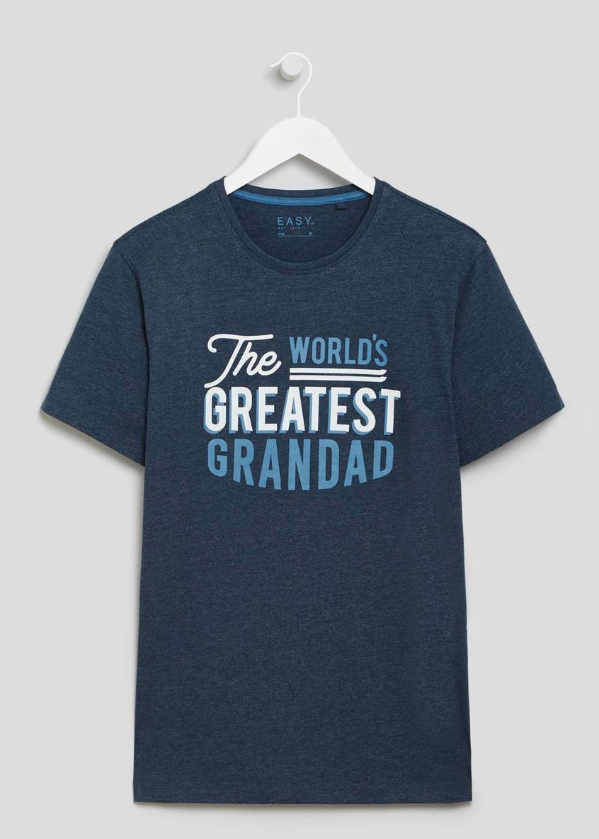 World's Greatest Grandad Slogan T-Shirt