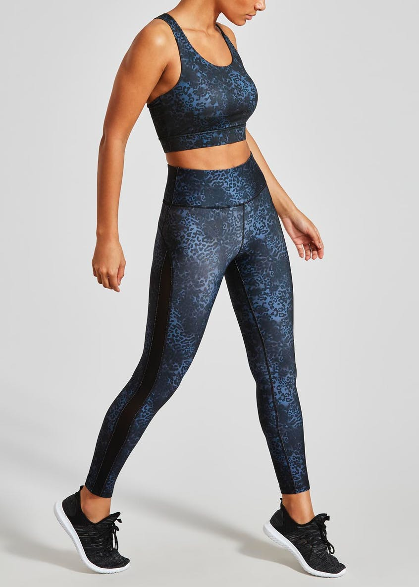Souluxe Animal Print Sports Crop Top