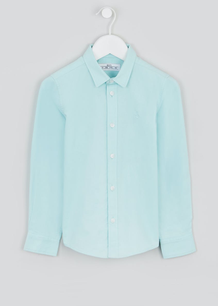 Boys Long Sleeve Oxford Shirt (4-13yrs)