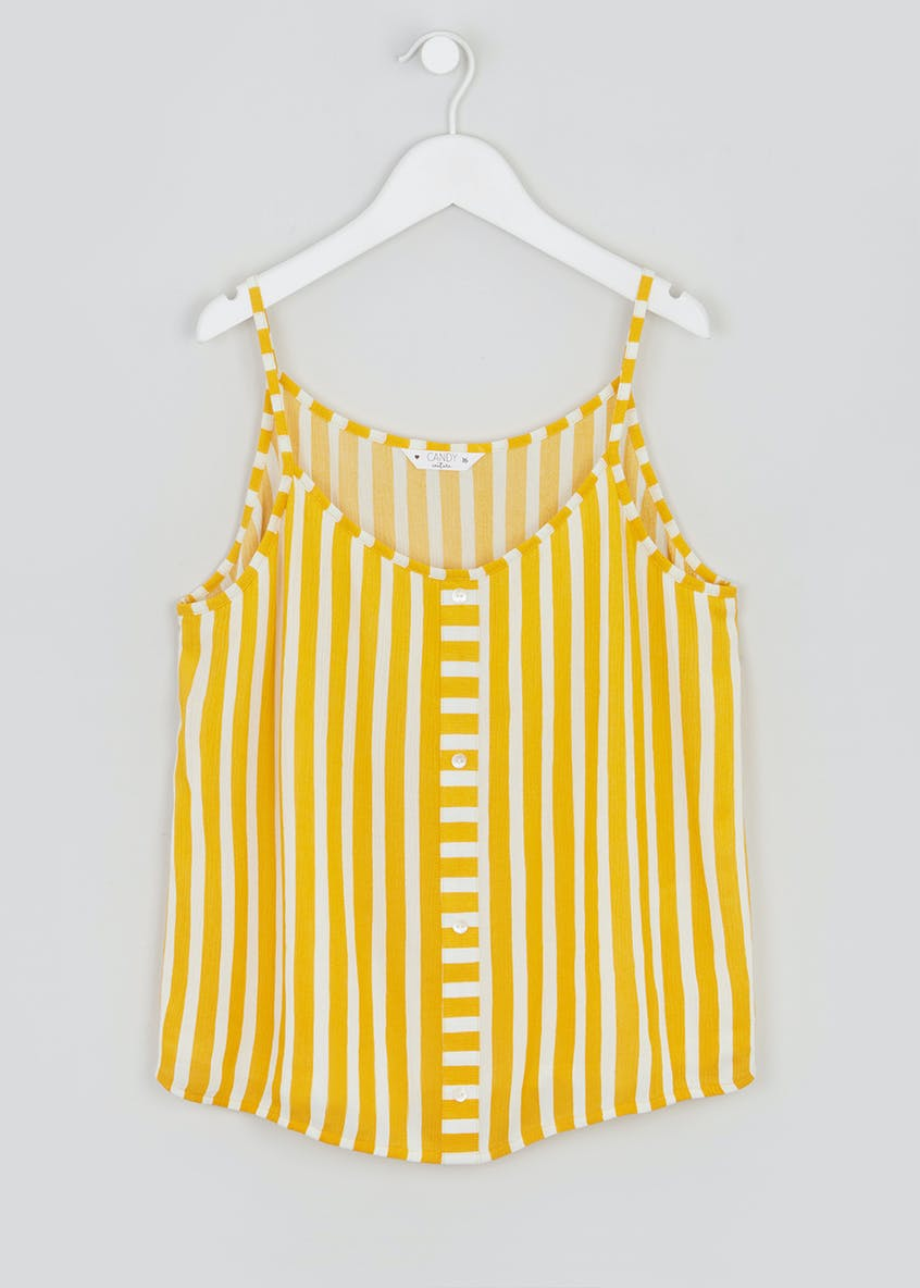 Girls Candy Couture Stripe Cami Vest (9-16yrs)