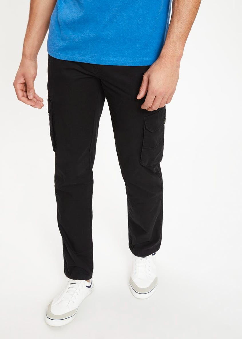 Big & Tall Straight Fit Cargo Trousers