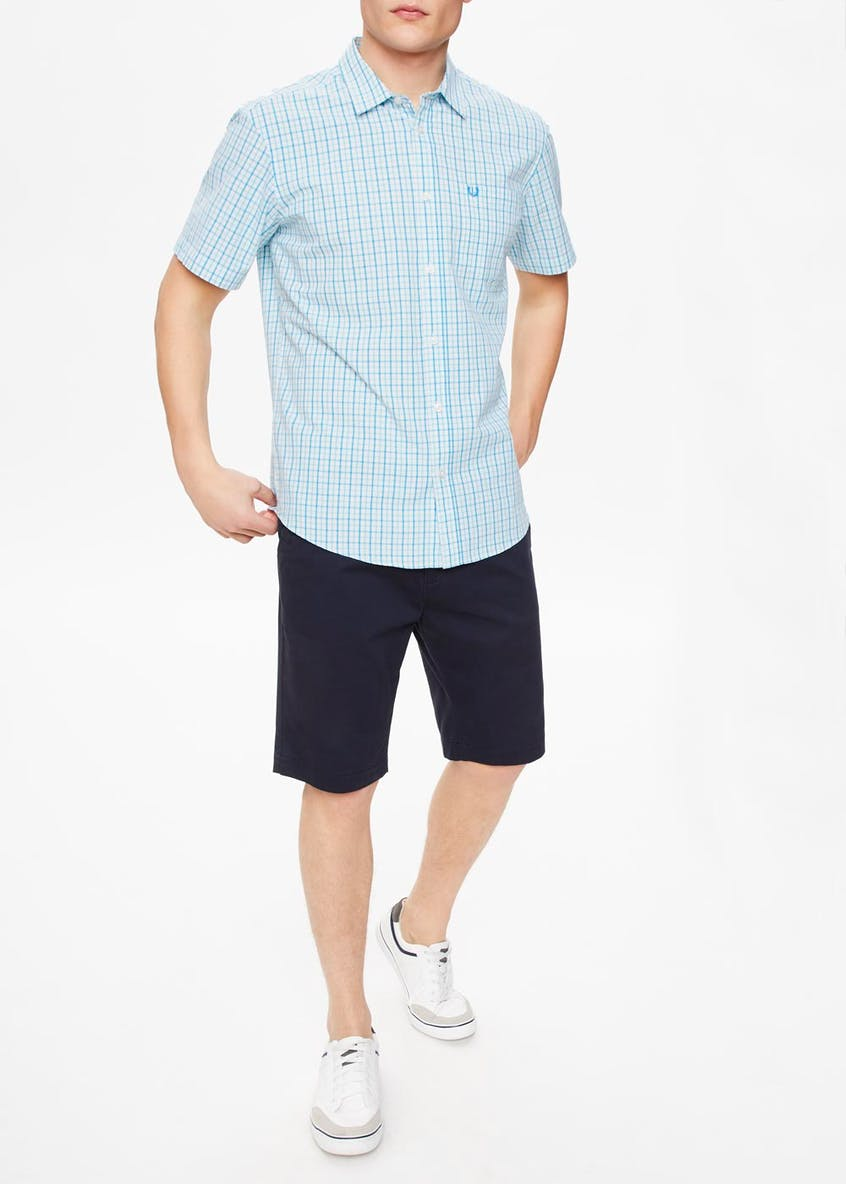 Lincoln Short Sleeve Gingham Check Shirt