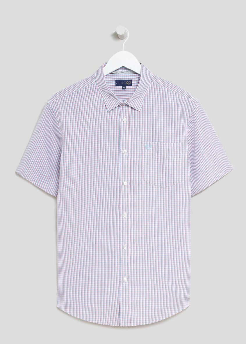 Lincoln Short Sleeve Grid Check Shirt