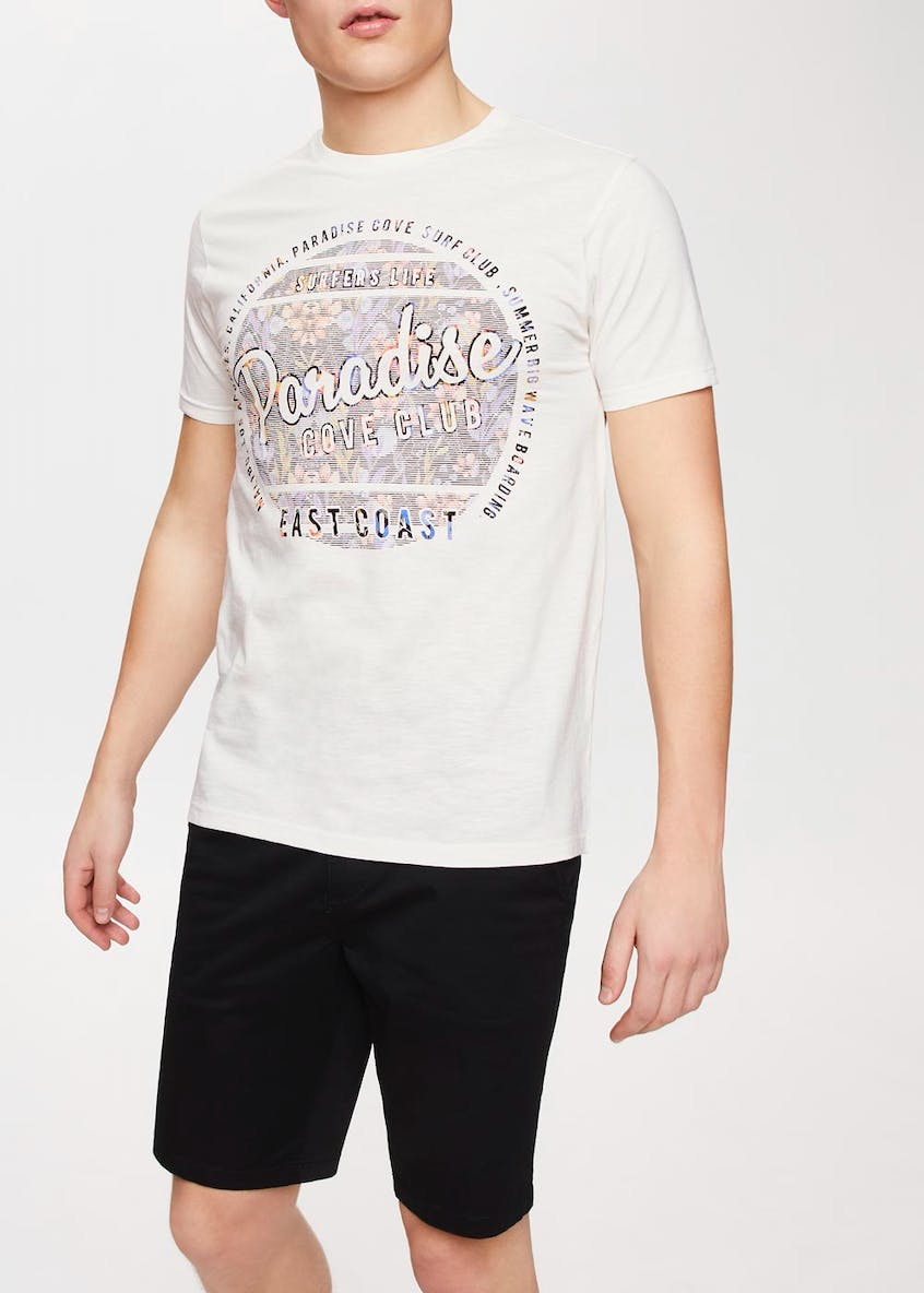 Paradise Graphic Print T-Shirt