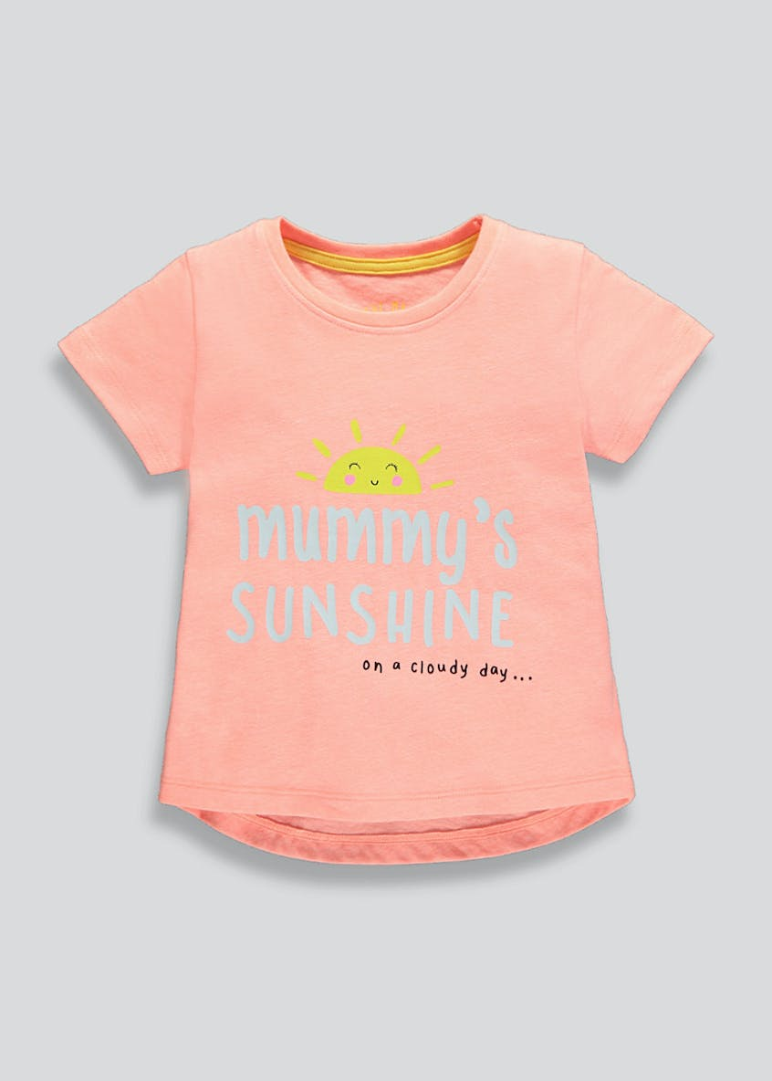 Kids Mummy Slogan T-Shirt (9mths-6yrs)