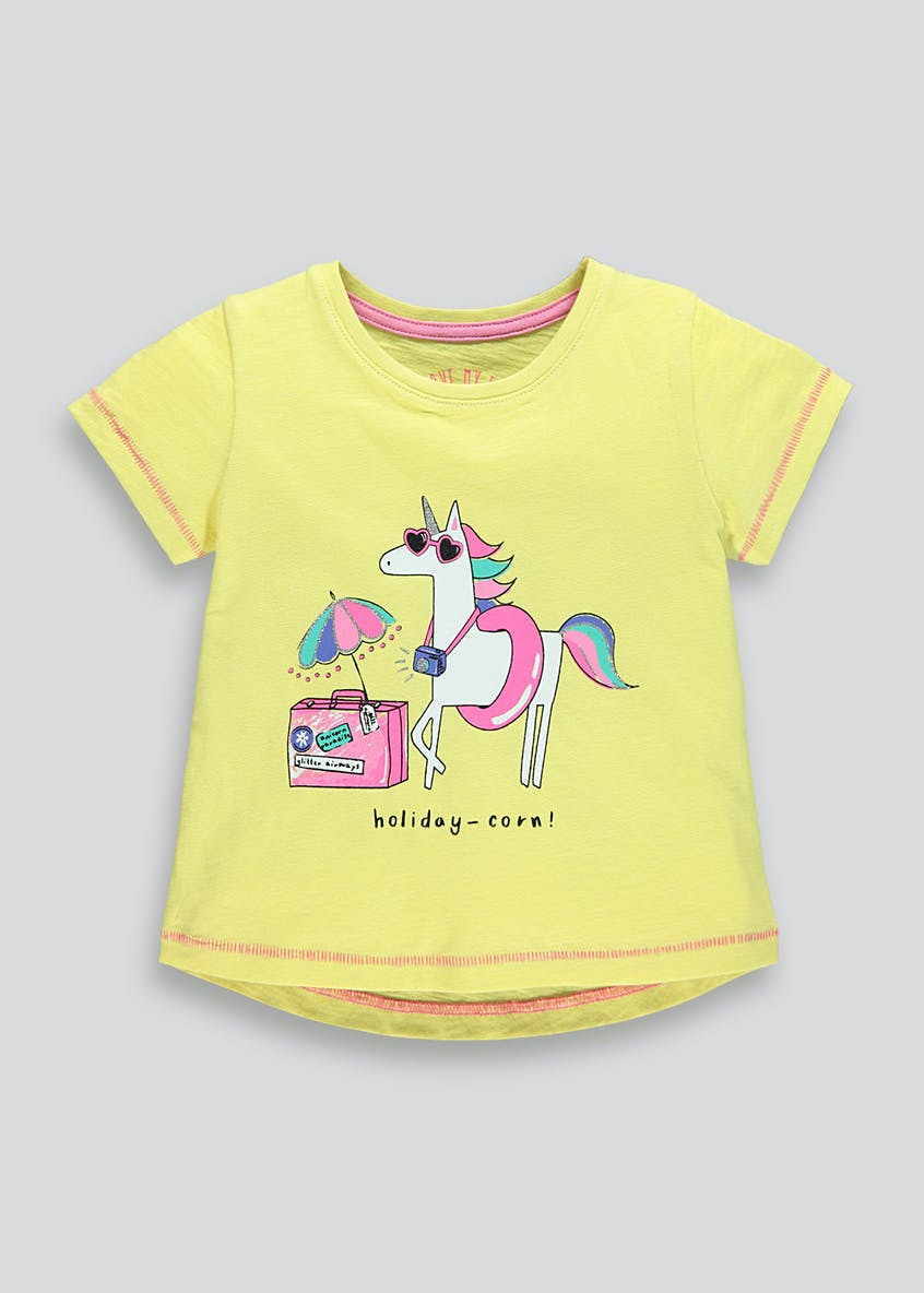 Kids Unicorn T-Shirt (9mths-6yrs)