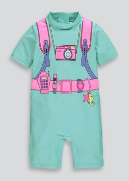 Girls Mermaid Explorer Surf Suit (3mths-6yrs)