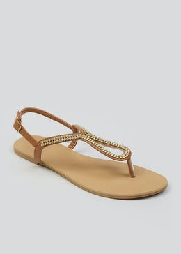 15d1a7028 Womens Sandals - Flat Sandals   Summer Shoes – Matalan