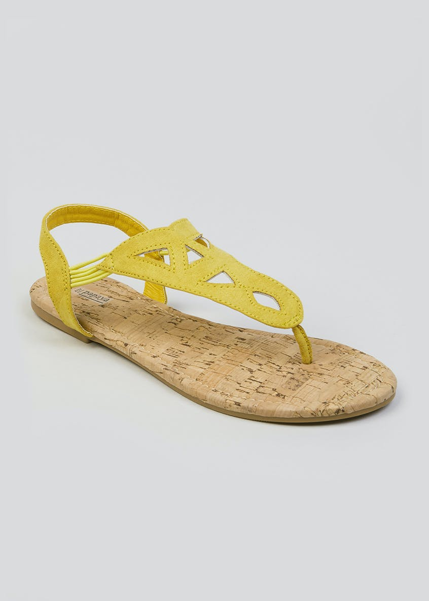 Toe Post Cork Sandals