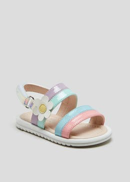 84487ef3b3c Girls 1st Walkers Rainbow Sandals (Younger 3-12)
