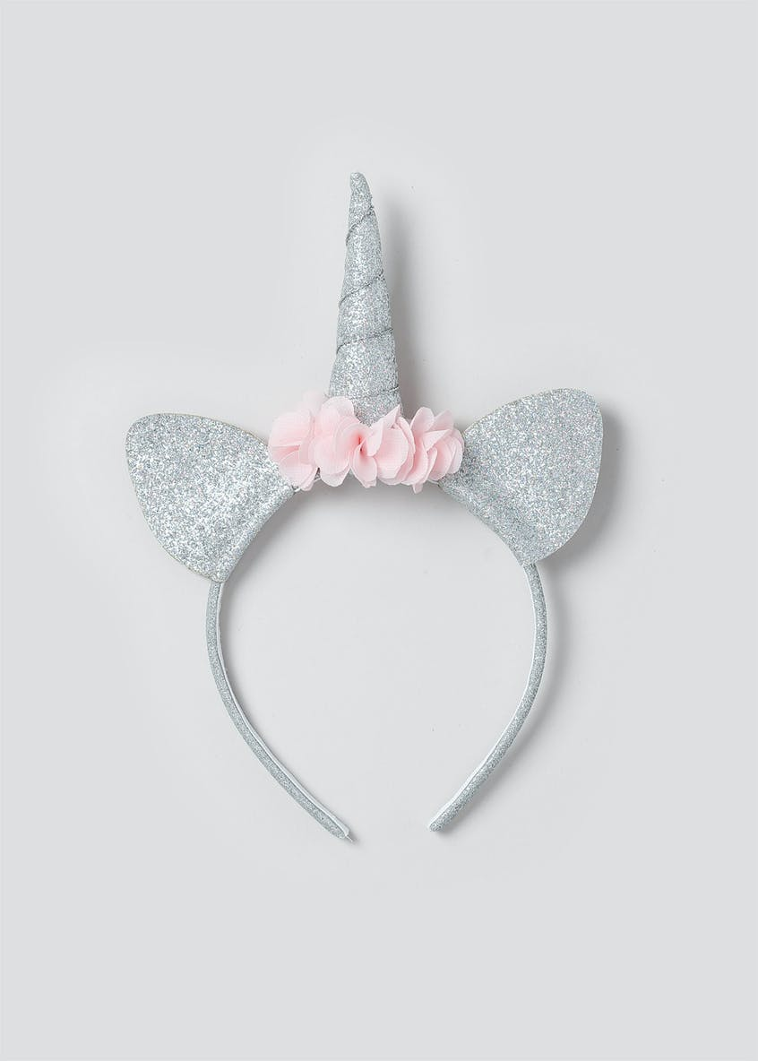 Girls Glitter Unicorn Aliceband