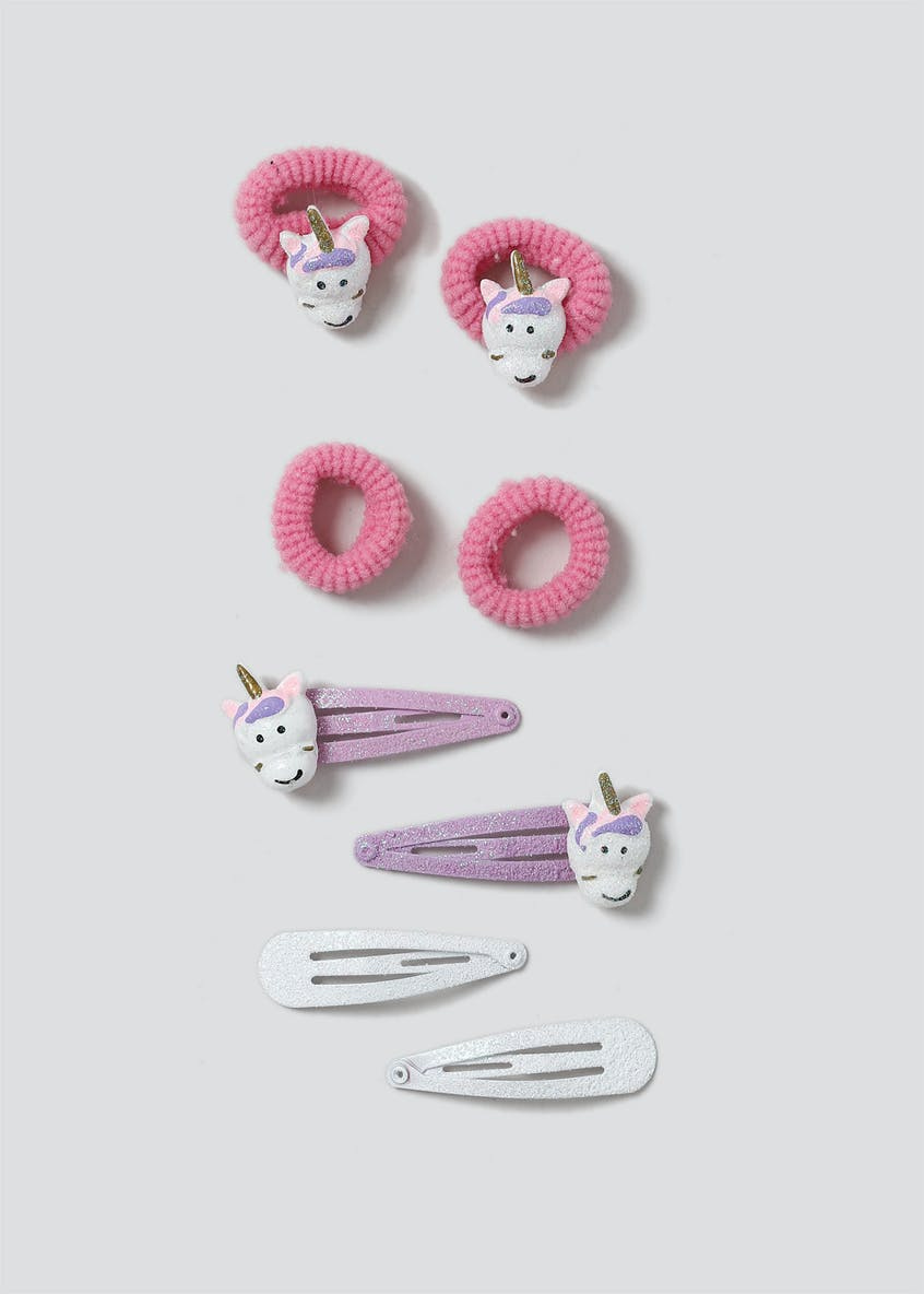 Girls Unicorn Hair Multi Pack
