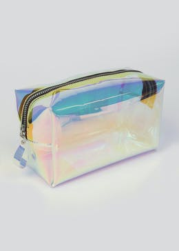 Holographic Makeup Bag (20cm x 12cm x 10cm)