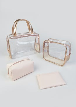Set of 4 Cosmetic Bags