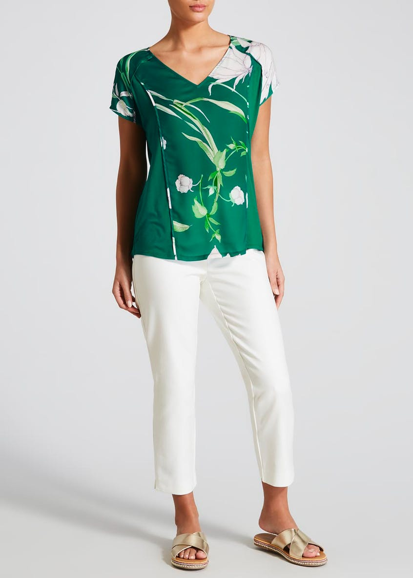 Soon Floral Woven Front Blouse