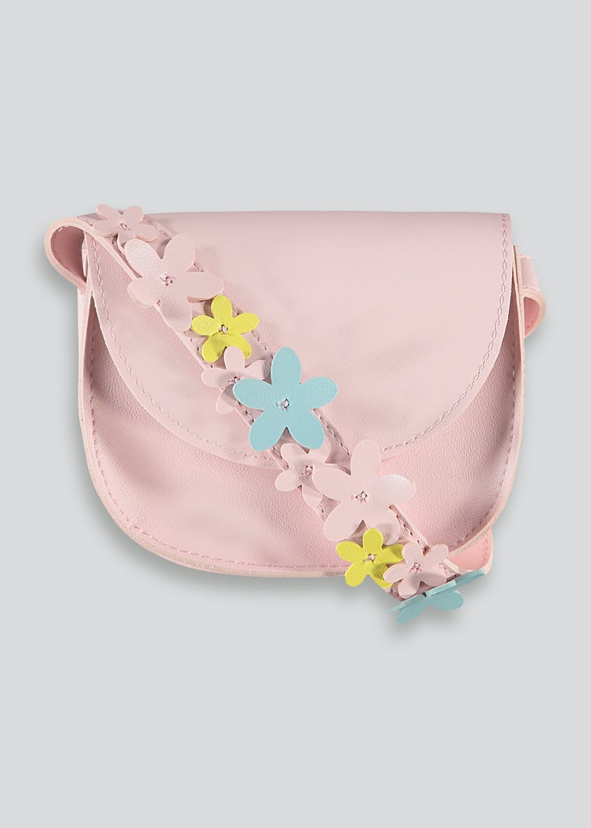 Girls Flower Cross Body Bag