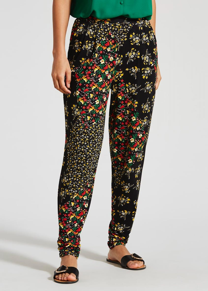 Ditsy Floral Harem Trousers