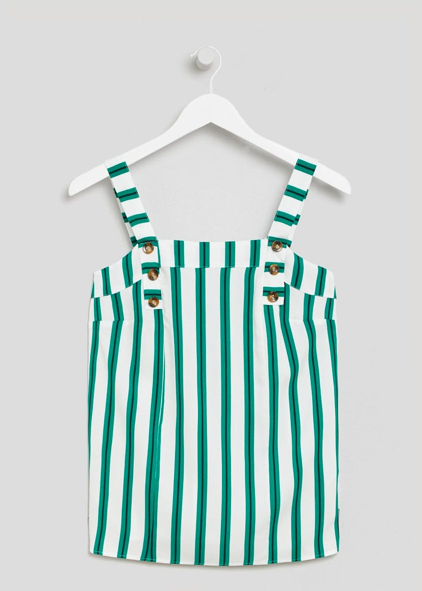Stripe Wide Strap Cami