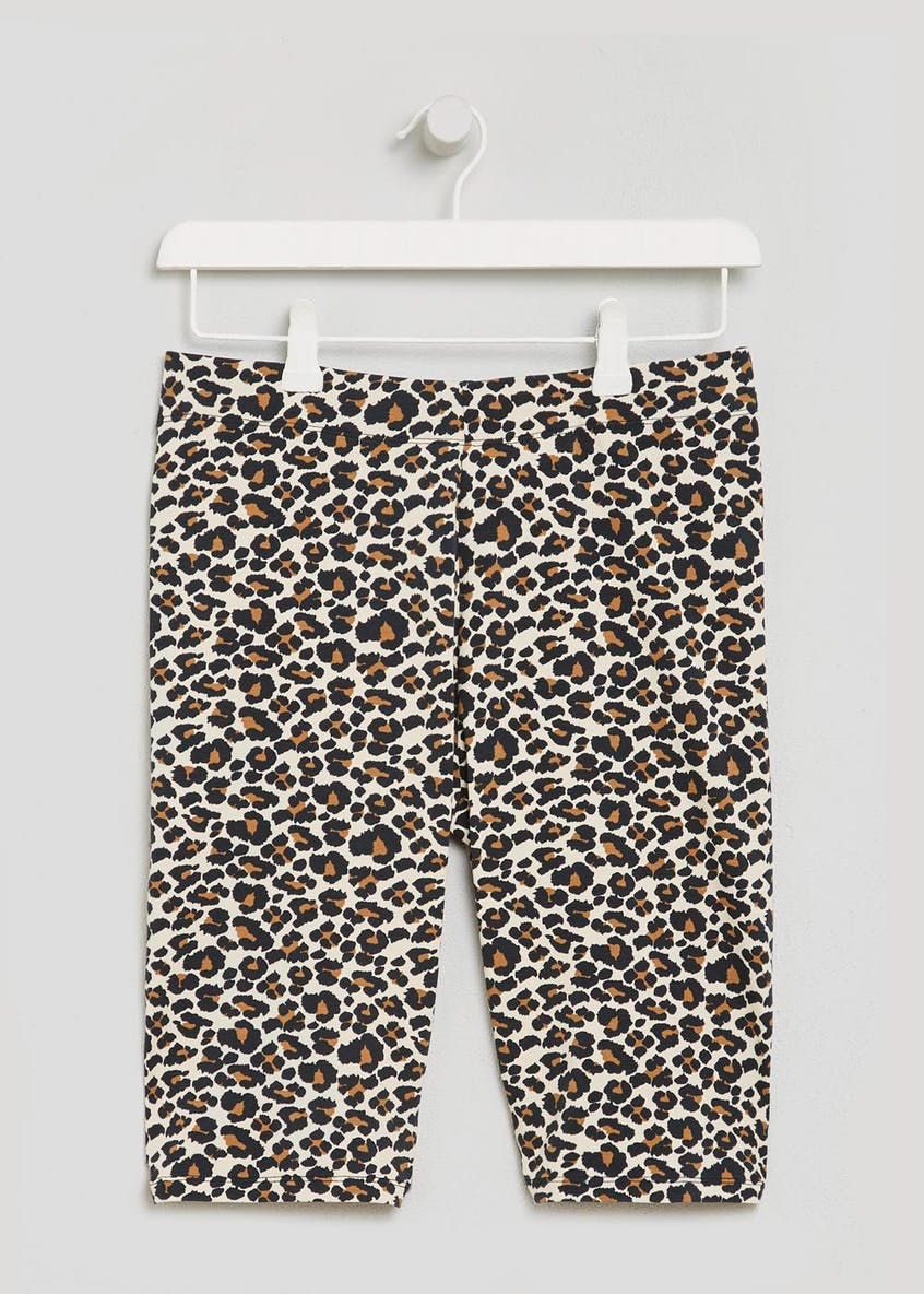 Leopard Cycling Shorts