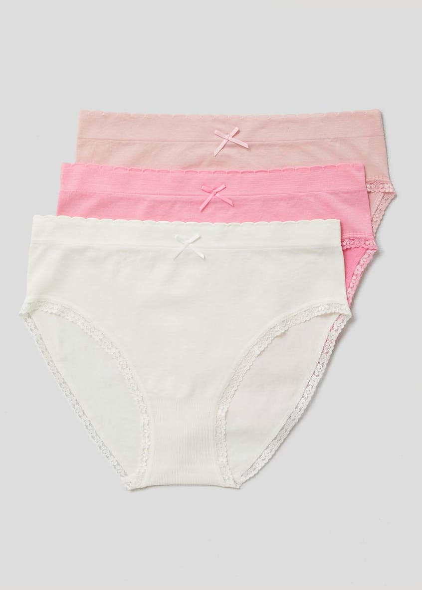 3 Pack Seam Free Full Knickers