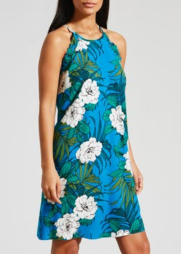 Floral Frill Viscose Cami Dress